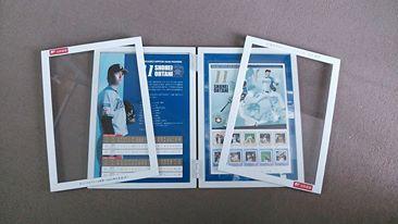 大谷選手記念切手入りマグネット式フレーム