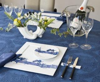 伊万里焼による夏のテーブルコーディネート